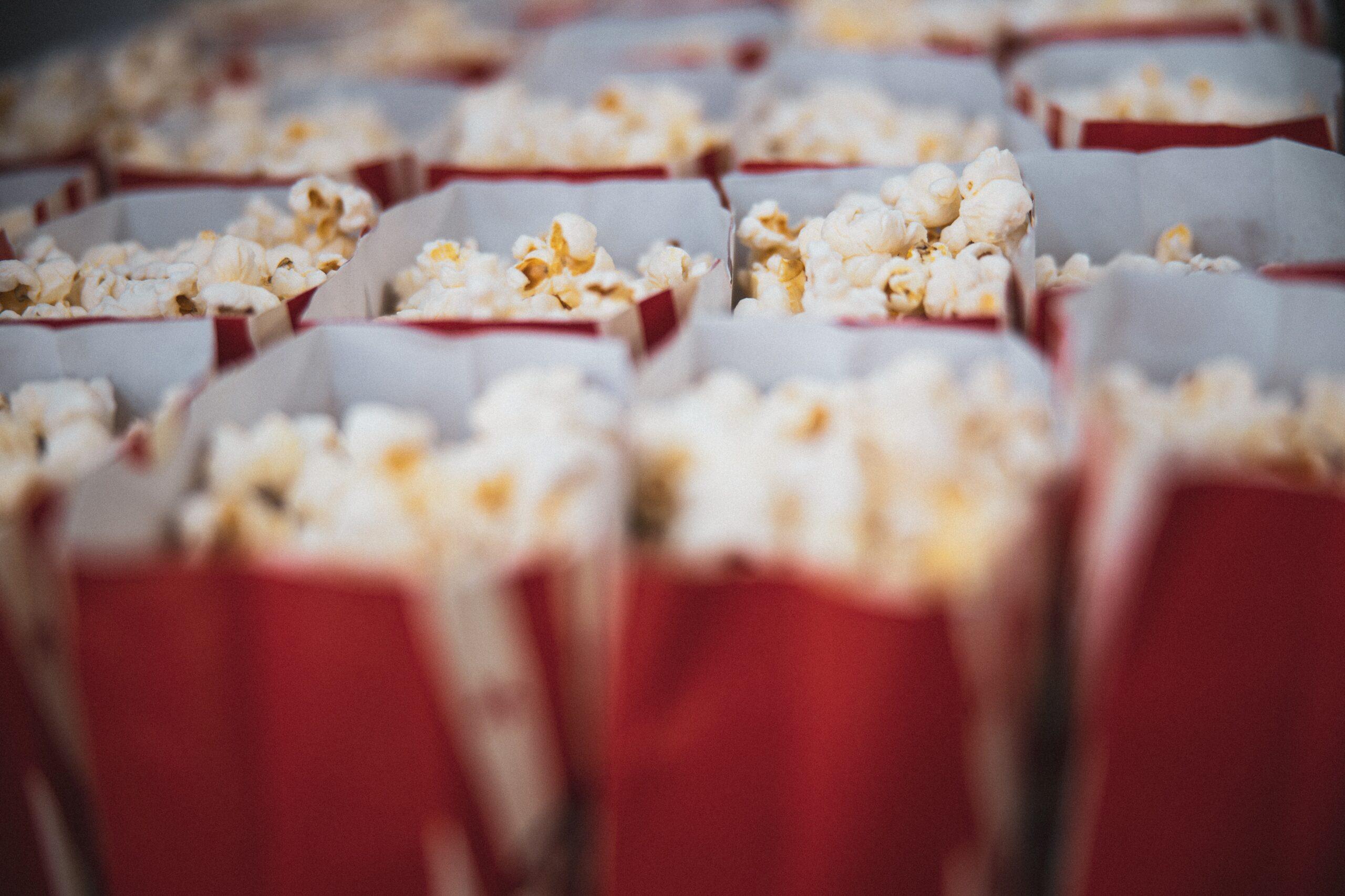 F&B online sales popcorn